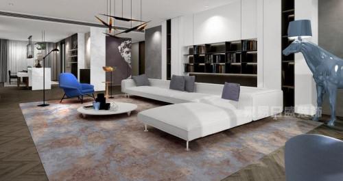 运用大量白色贯穿全屋是北欧居家经典特色,简洁墙面唿应没有过度繁图片