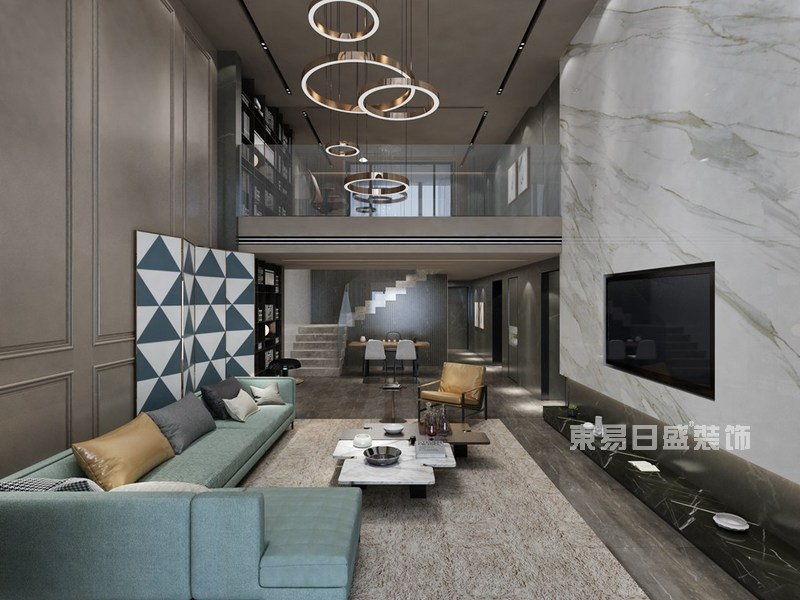 超现代奢华别墅装修效果图
