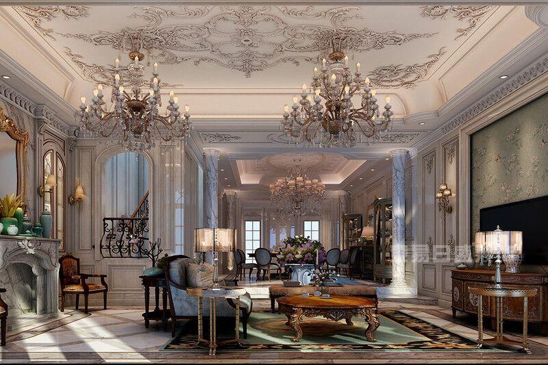 重庆别墅要这么装修设计,洋房别墅方案样本