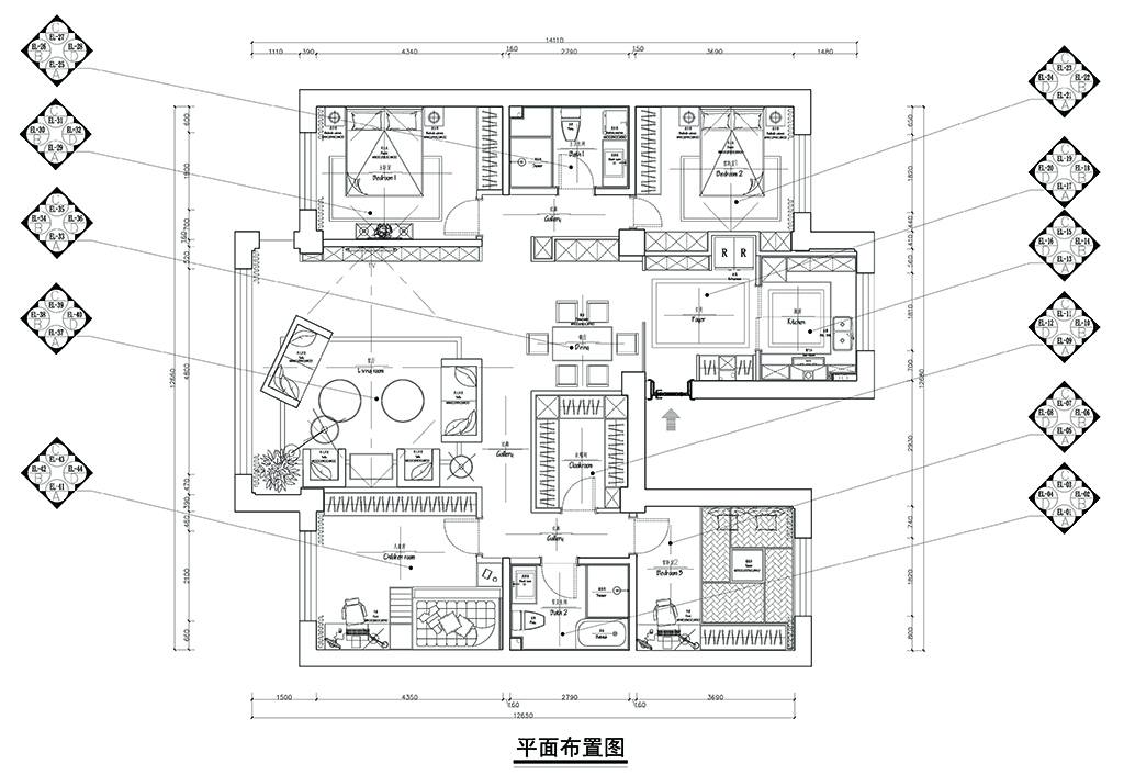 星海人家-现代简约-170平装修设计理念