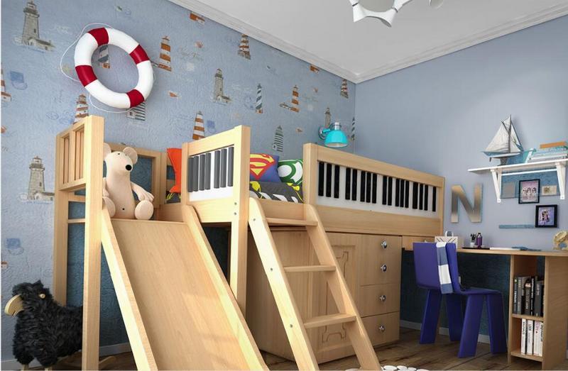 东易日盛全屋定制儿童房