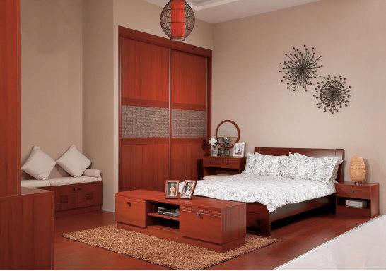 婚房装修时卧室床和衣柜颜色怎么搭配?
