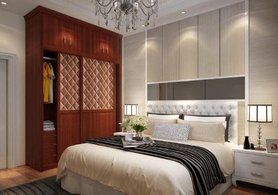 卧室床和衣柜颜色搭配案例