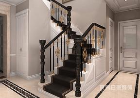 上海室内装潢楼梯装修设计注意事项及要点