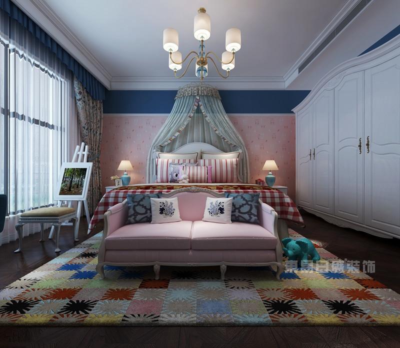 法式风格 卧室_儿童房装修设计