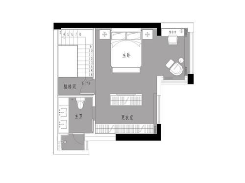 尚品半岛212平跃层现代风格装修设计效果图装修设计理念