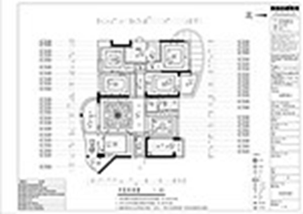 青龙湾194㎡新古典风格平层装修设计理念