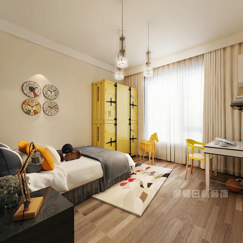 现代风格 卧室_儿童房装修设计