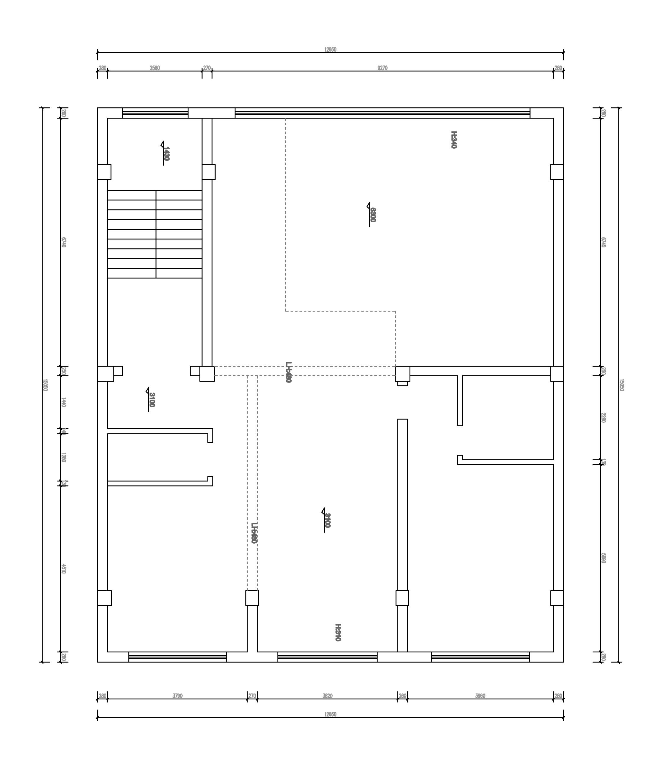 孝顺自建房-190㎡-现代简约装修设计理念