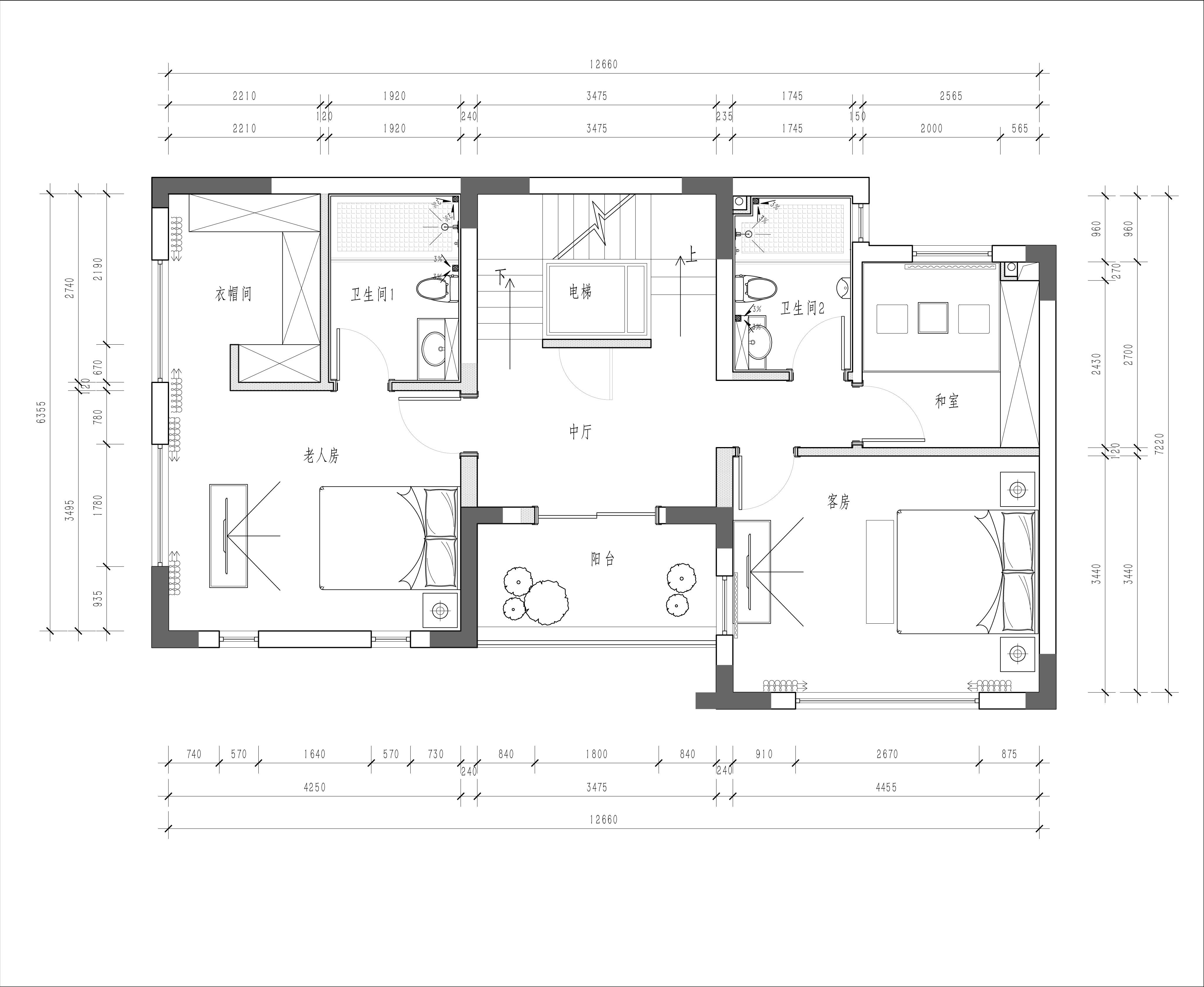 碧桂园-300平米-现代简约风格装修案例效果图装修设计理念