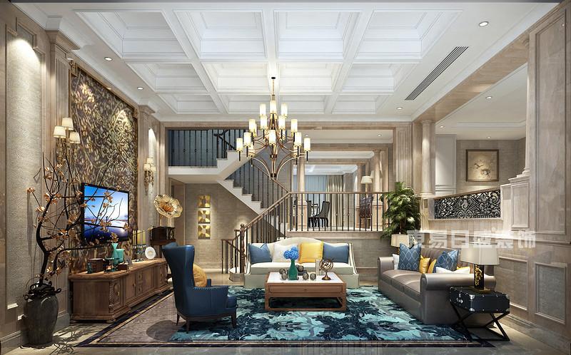 欧式古典-客厅装饰-别墅