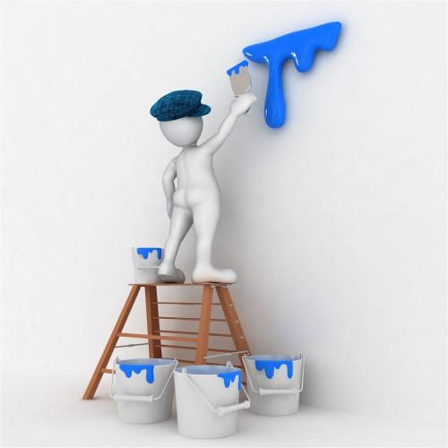 房子装修墙面翻新是刷漆好还是贴纸好