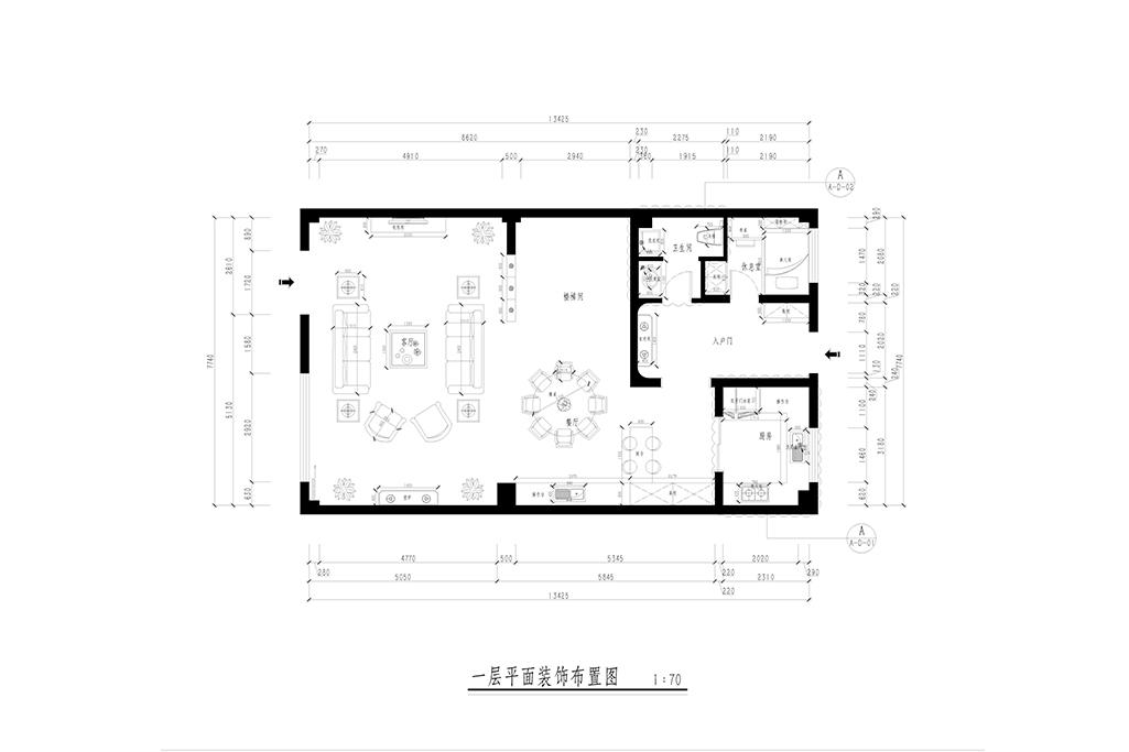 金瑞国际-简欧-360㎡装修设计理念
