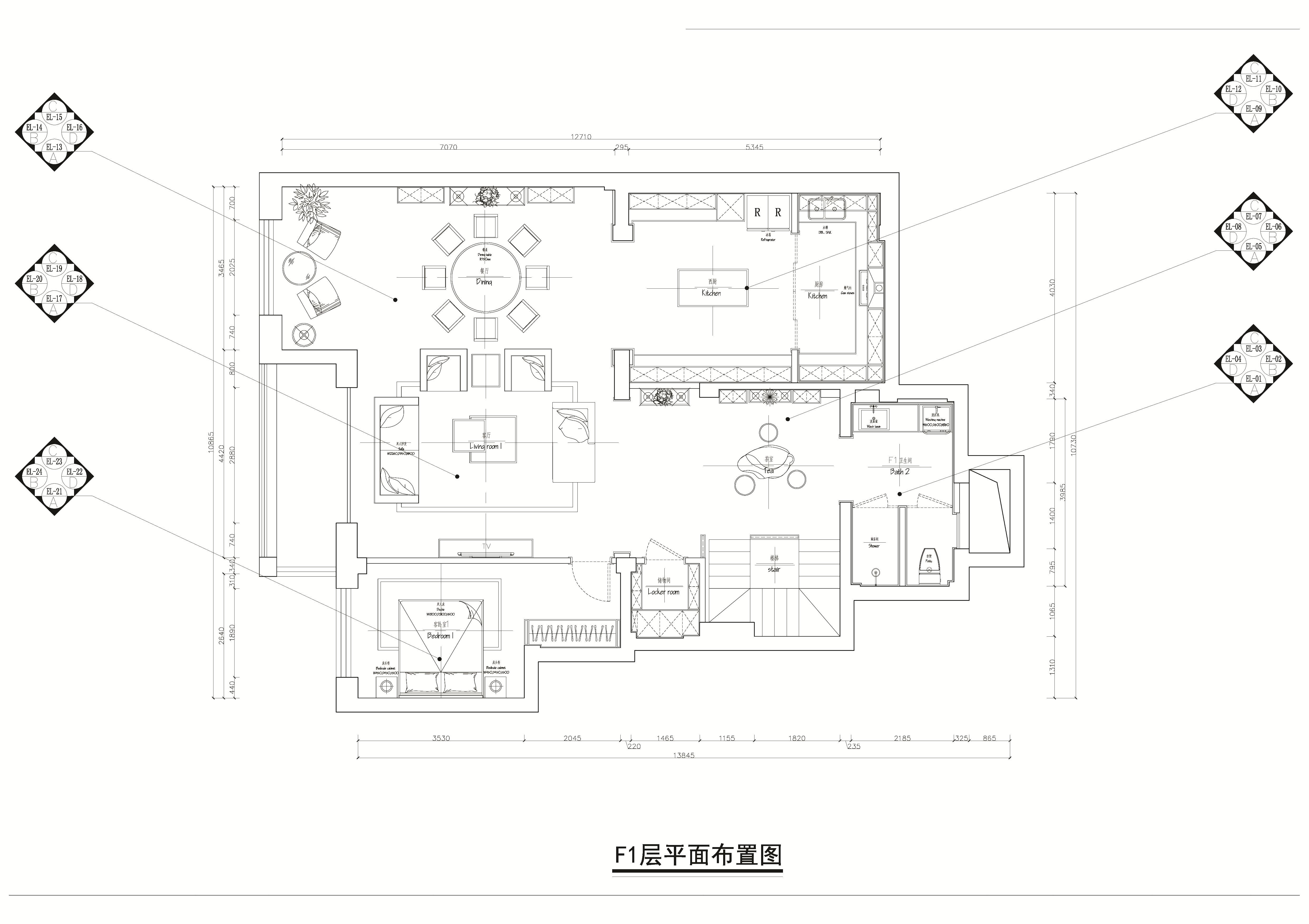 秀月麒林-轻奢-165平装修设计理念