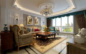 香山美墅装修案例 | 153平米欧式风格