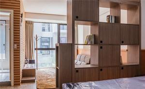 客厅与卧室不挡光隔断 很多人喜欢设计隔断原因在这里
