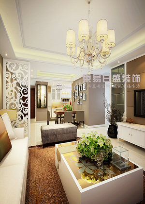 碧鸡名城146平米四居室现代简约装修风格案列解析