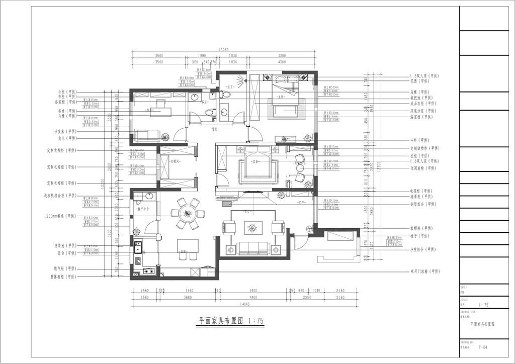 丽彩溪岸庄园 现代风格装修效果图 四室两厅 147平米装修设计理念