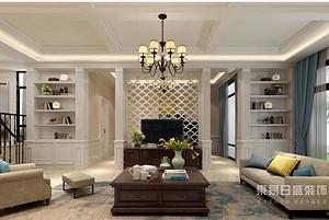 500平简美独栋别墅装修,奢华高雅如同置身在美幻之中
