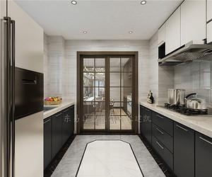 如何设计厨房装修使空间利用最大?留意这三点