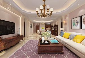 房子装修165平效果图,美式田园风格令人惊叹