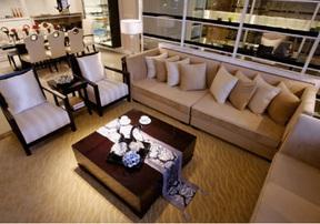 客厅装修设计,除了放茶几还可以这样设计-深圳装修工