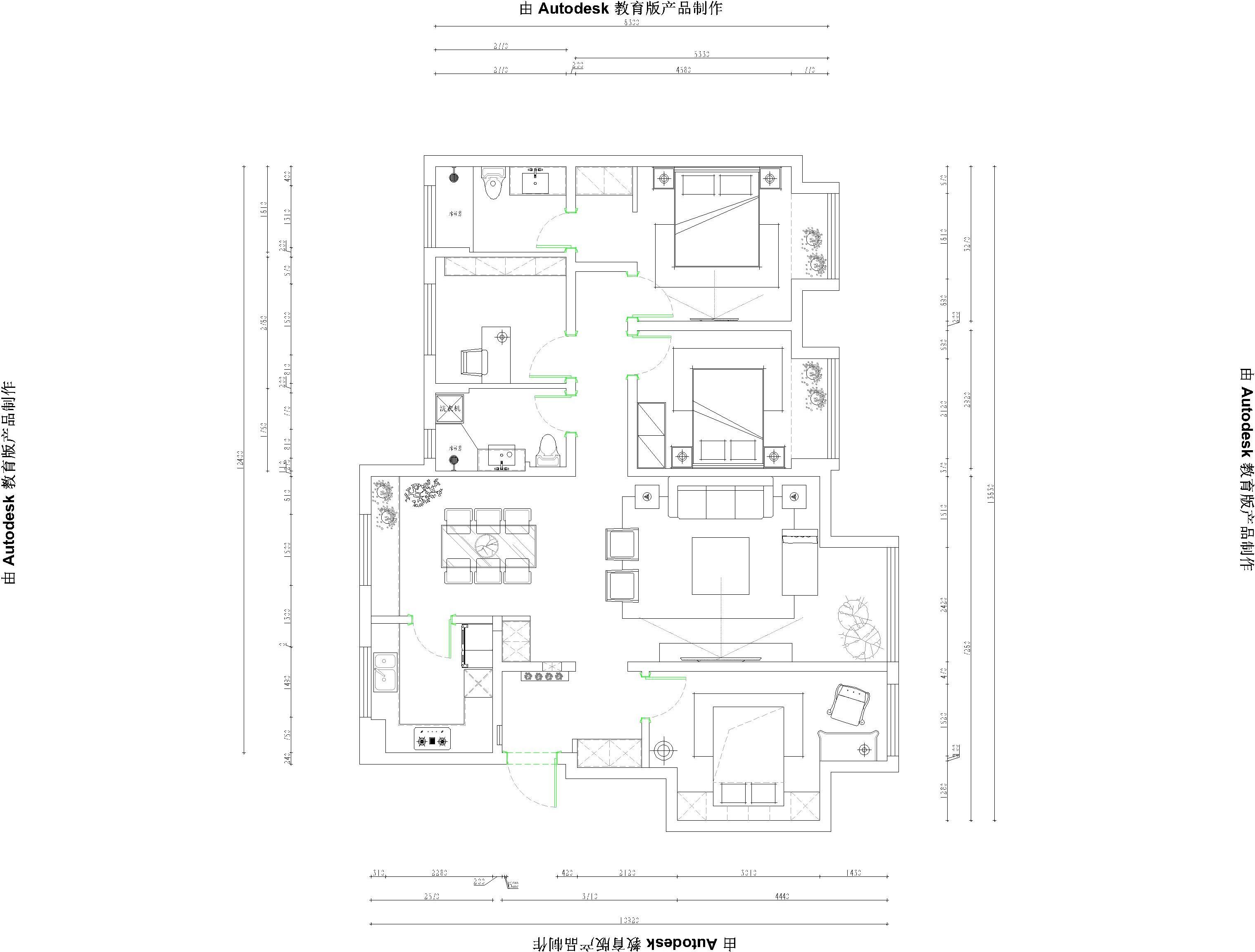 新华联悦澜湾-新中式性状style-145m/2装潢策划愿景