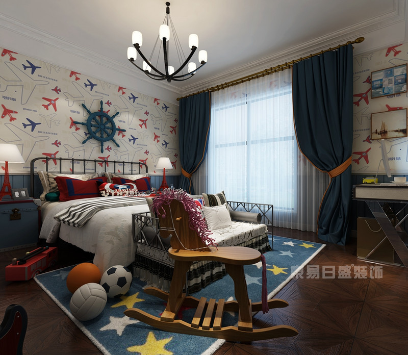 地中海风格 卧室_儿童房装修设计