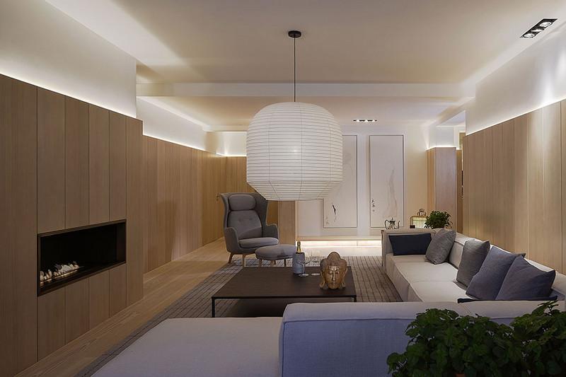 别墅装修设计 如何装修北欧风格,越来越多的消费者青睐优雅简约的欧式装修风格。以白色为主色调的北欧风格在装修过程中还需要欧式家具的点缀,原创艺墅装饰原创国际小编给大家带来的是:别墅装修设计 如何装修北欧风格。  北欧简约风格客厅装修 客厅不大,但是收纳功能超级强大,整面的原木书柜,把爱书的家庭收拾地干干净净。