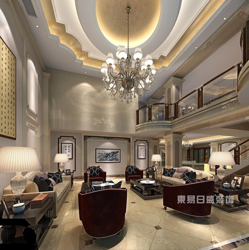 欧式三层小别墅装修效果图高端大气和低调奢华各具特色