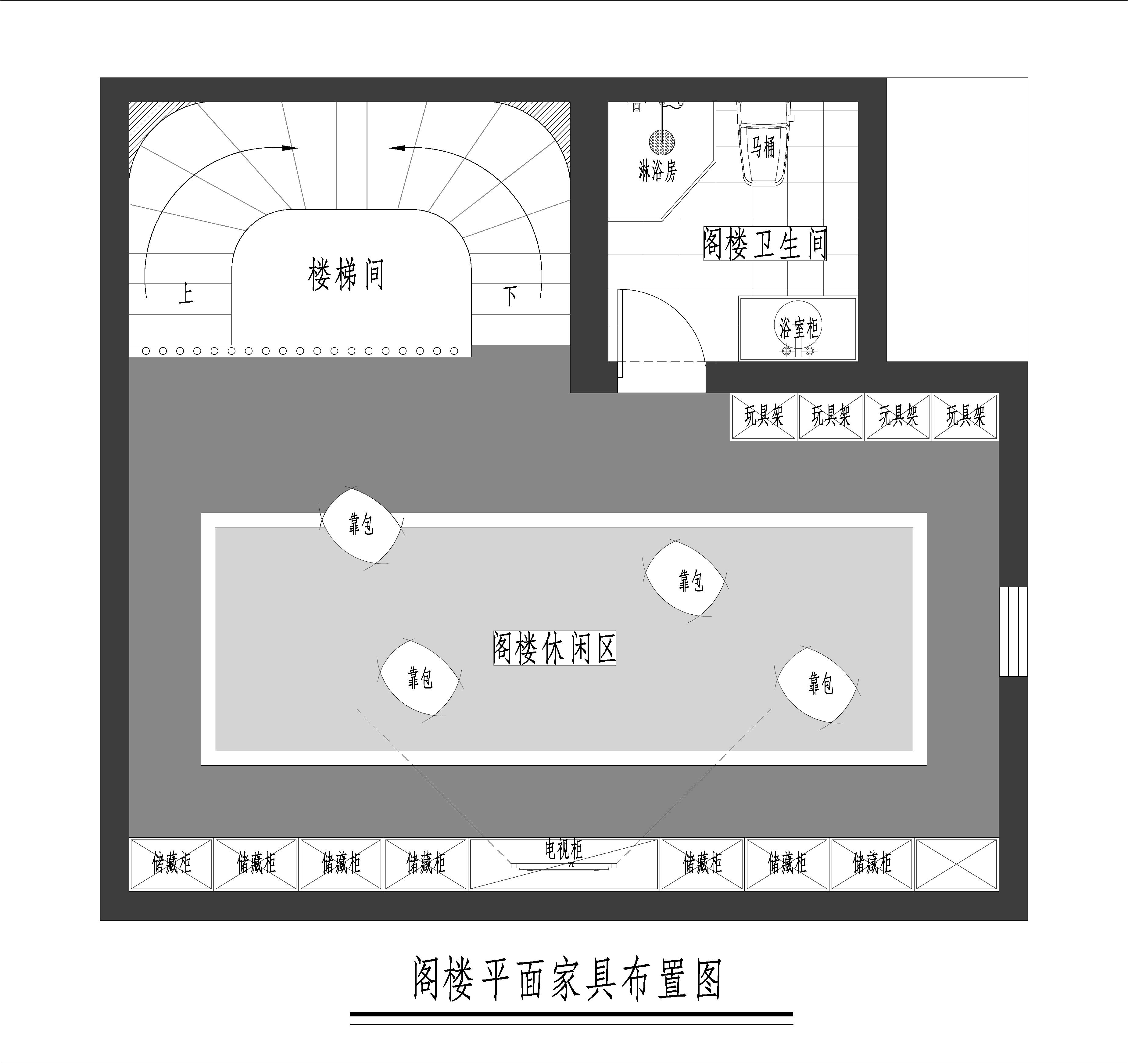 泷悦长安-430平米-美式乡村风格-装修效果图装修设计理念