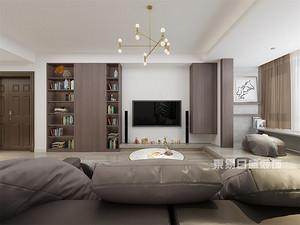深圳129平米房子装修效果图,诠释不一样的简约美!
