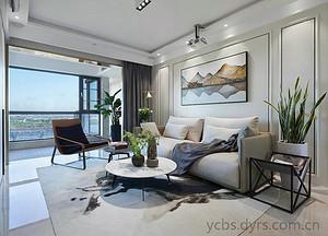 《深圳装修公司排行》三室两厅装修效果图案例分享