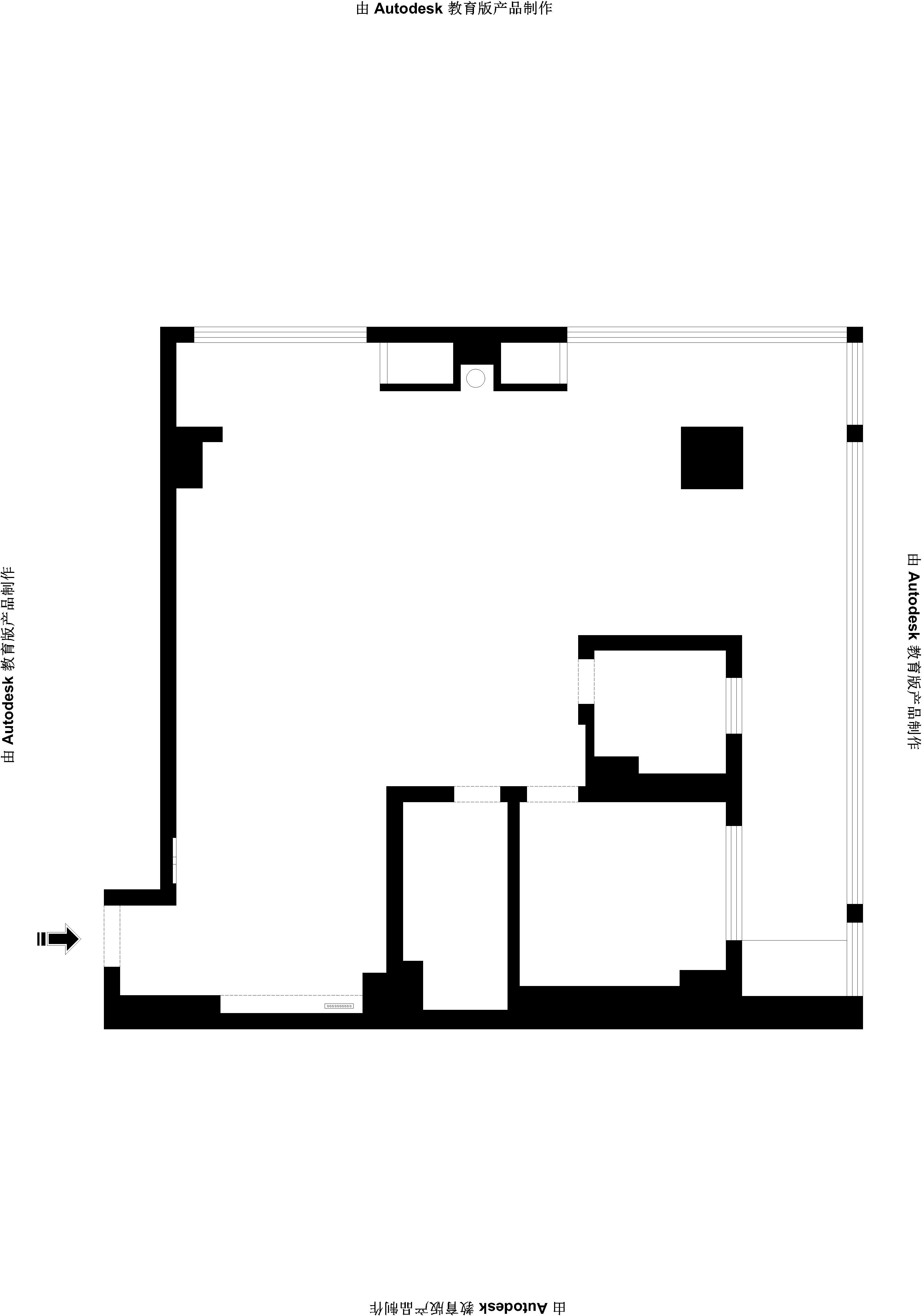 京南互联网大厦90平一厅一卫中式风格装修效果图装修设计理念