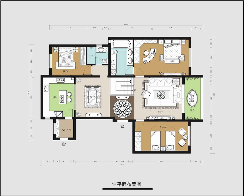 旭辉御府-新中式-160平米装修设计理念