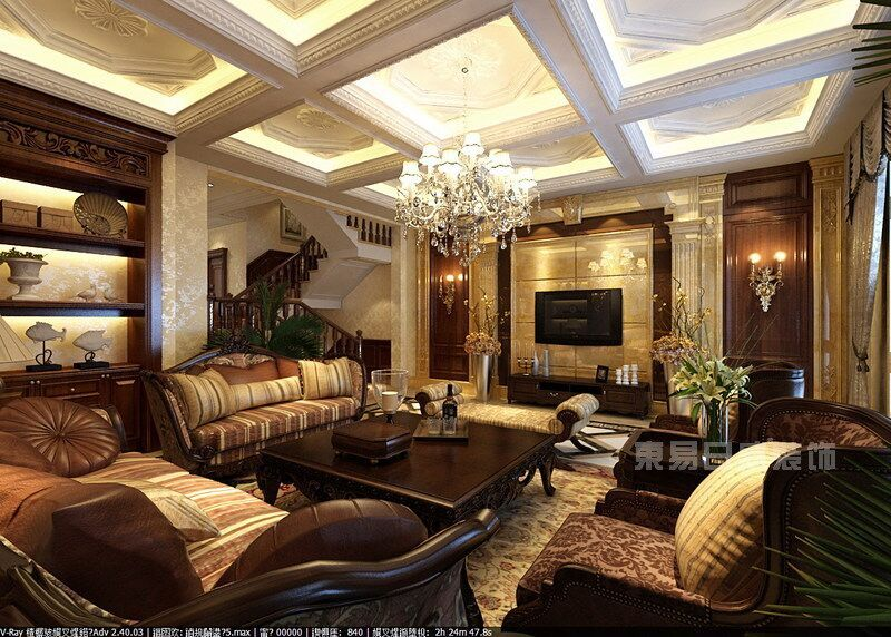 重庆洋房别墅装修设计公司装修效果图片