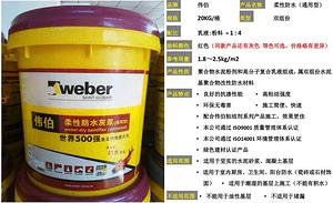 防水涂料基本分类及防水常见问题
