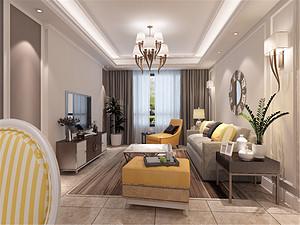 96平简美风格二居装修,经济、实用、舒适!