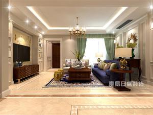 美式风格设计说明,解析140平四居室美式风格室内设计