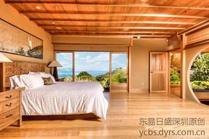 木地板装修效果图,打造温馨卧室居室-深圳家装公司排行榜