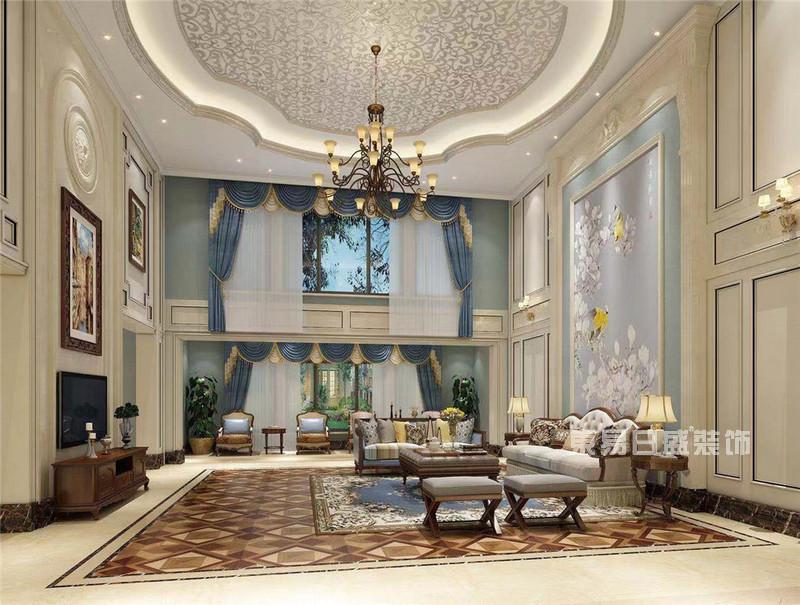 不同效果图欣赏美式风格别墅装修样板房案例