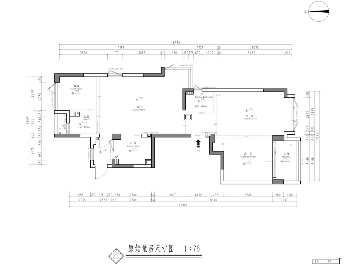 江山万里132㎡台式风格装修设计理念