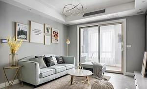 六款北欧风格客厅效果图,会有你喜欢的-深圳装修网站排名
