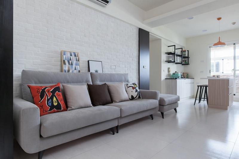 老房子改造装修案例-沙发