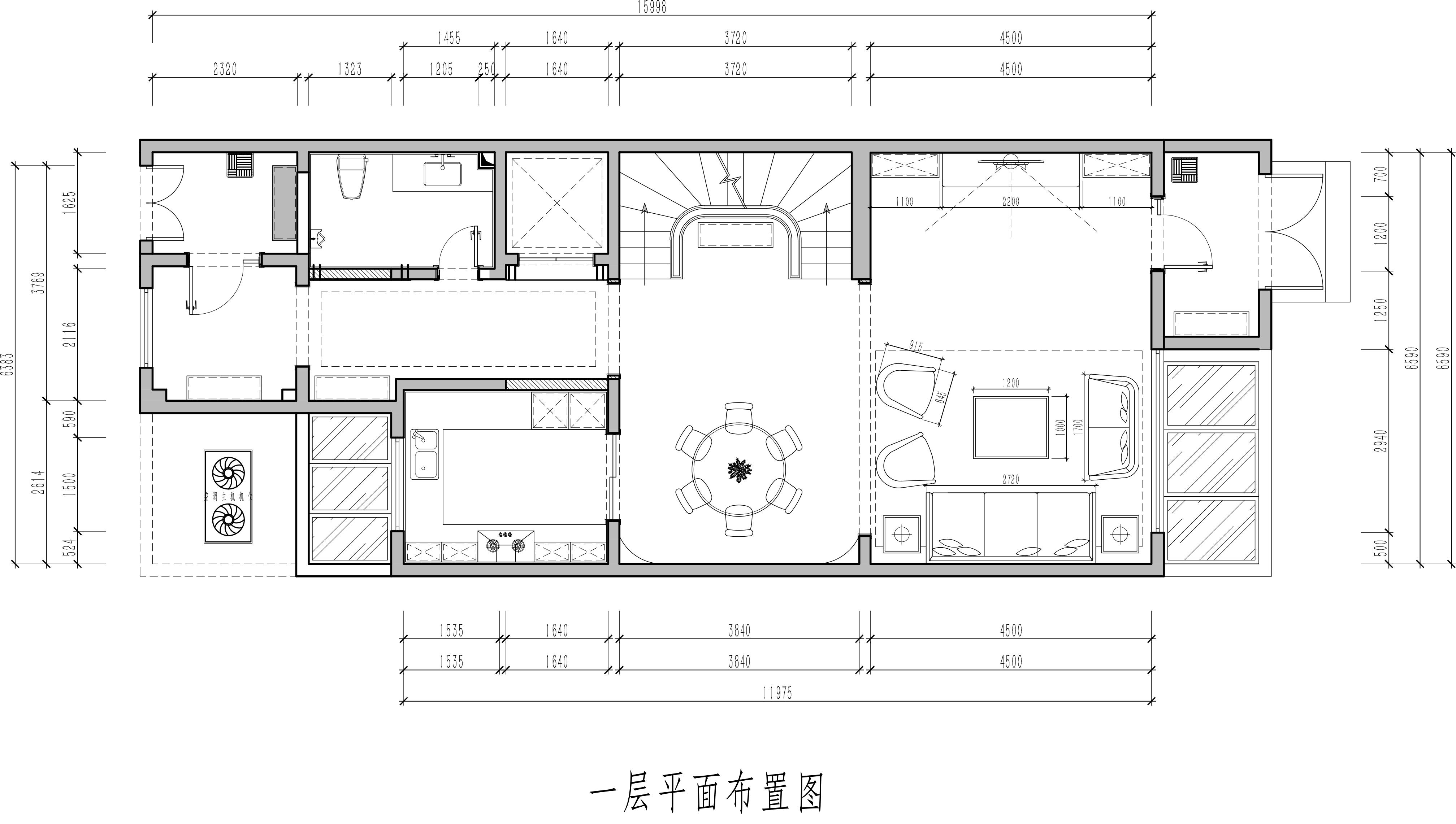 泷悦长安 混搭风格 430平米装修设计理念