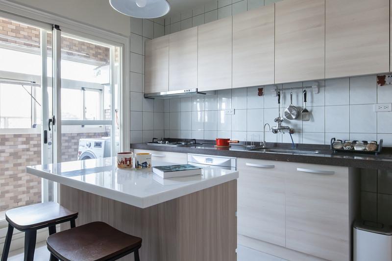 老房子改造装修案例-中岛