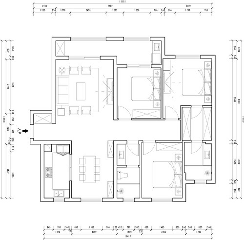 复地东湖国际中式风格装修效果图装修设计理念