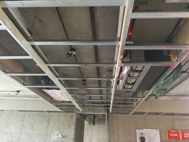 重庆洋房别墅装修设计公司装修工地现场图片