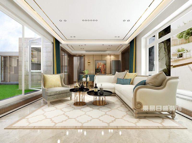 客厅装修地面用哪种瓷砖比较好打理?
