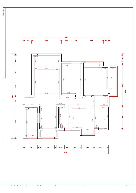枫林意树 北欧装修效果图 三室两厅 160装修设计理念